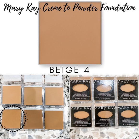 Mary Kay Creme to Powder Foundation In Beige 4